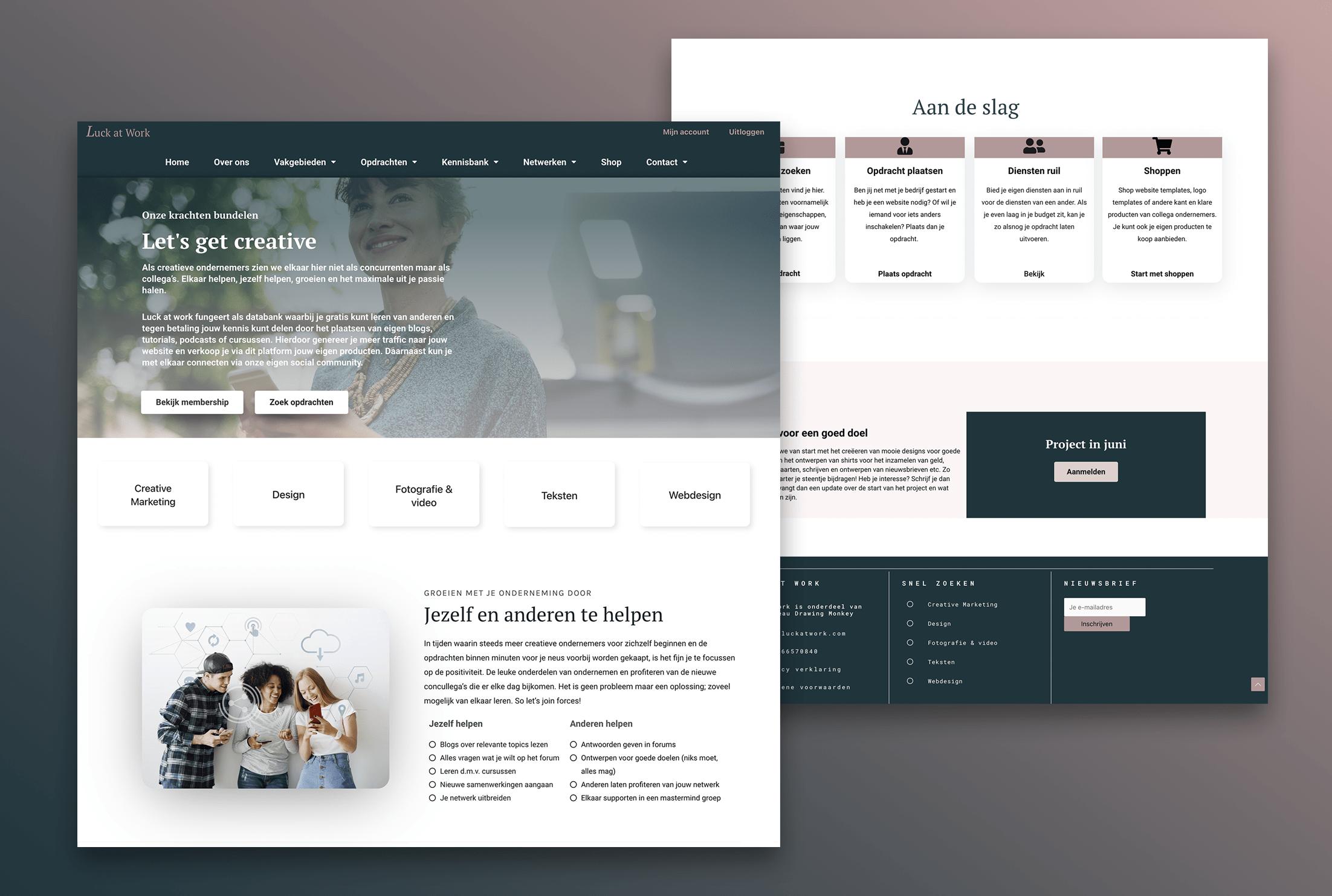 Webdesignbureau voor een nieuwe website